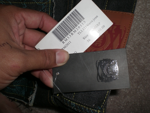 Example of fake labels